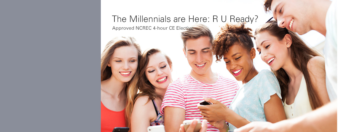 The Millennials are Here: R U Ready? : O/L