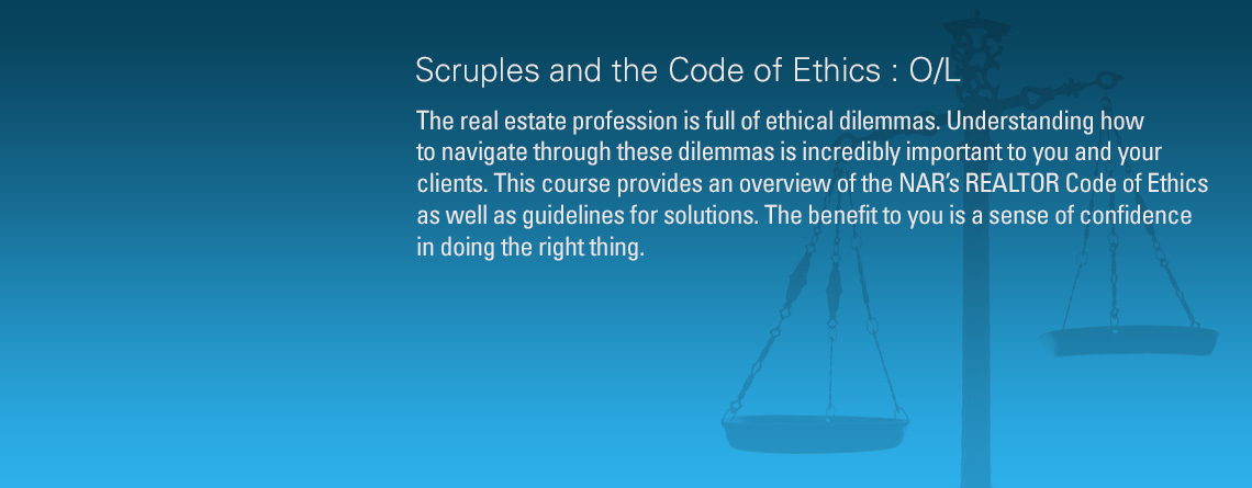 Scruples and the Code of Ethics