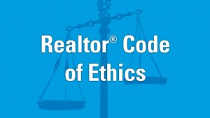 REALTOR Code of Ethics Balance Scale