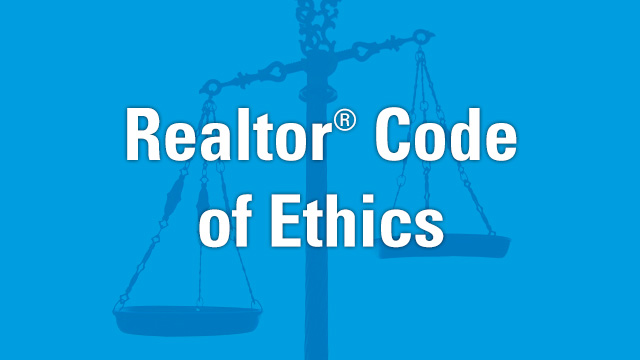 REALTOR® Code of Ethics training due December 31, 2018