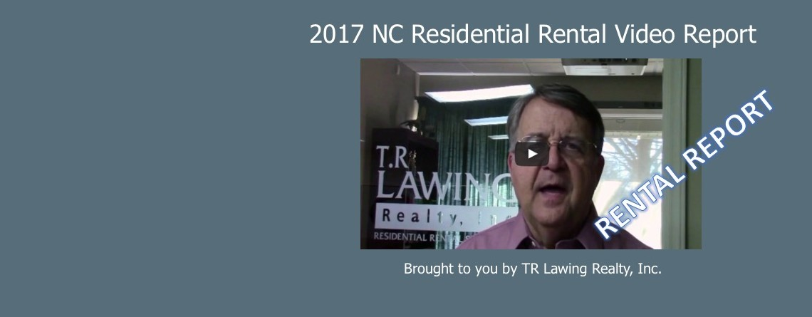 NC Residential Rental Report – 1st Quarter 2017