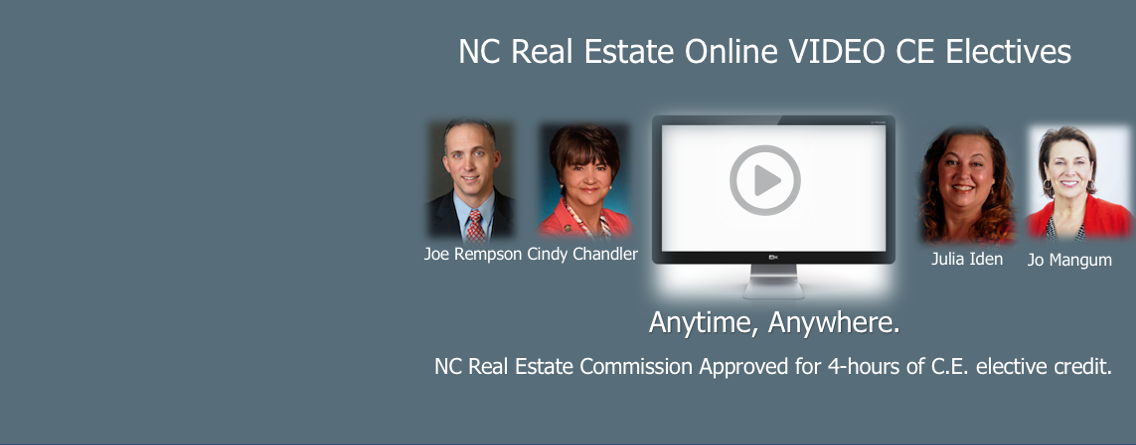 NC Real Estate Continuing Education Classes