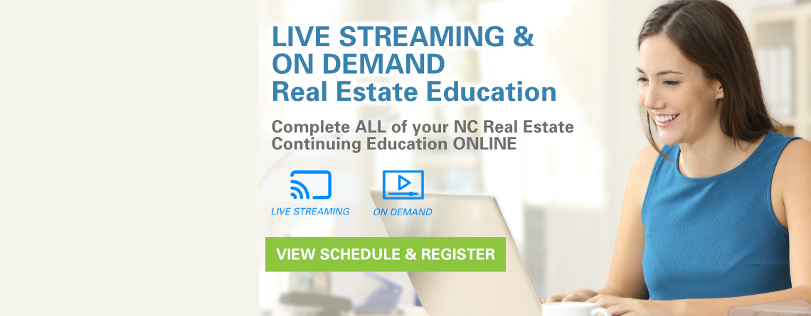 Online NC Real Estate Continuing Education